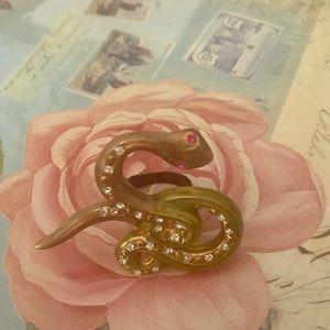 Betsey Johnson snake ring